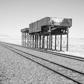 Old Railway Station, Tender, Water Tank, Steam Railway