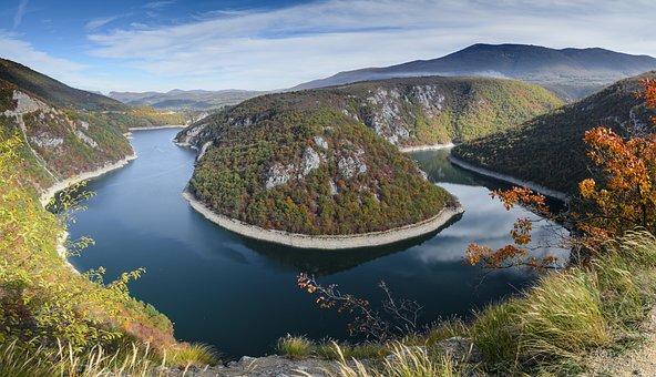 Bosnia, The River Vrbas, Nature, Landscape, Travel