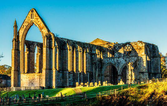 Bolton Abbey, Bolton Priory, Yorkshire, Wharfedale