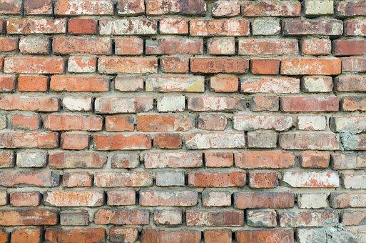 Wall, Old, Texture, Block, Grunge, Brick, Rough