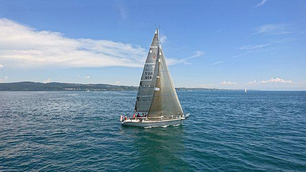 Sailing Boat, Boot, Lake, Lake Constance