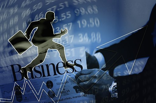 Business, Career, Man, Career Ladder, Silhouette, Rise