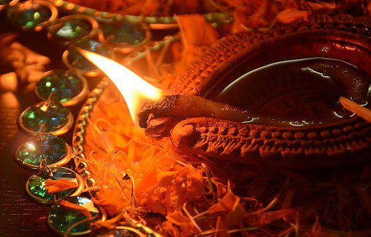 Diwali, Diya, Deepavali, Celebration, Traditional
