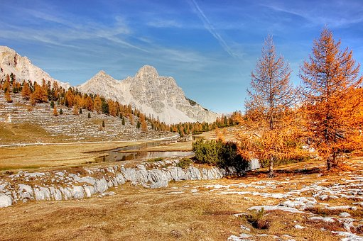 Dolomites, Mountains, Fanes, Italy, South Tyrol, Alpine