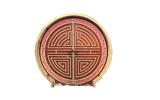 Goal, About, Isolated, Wooden Gate, Pattern, Circle