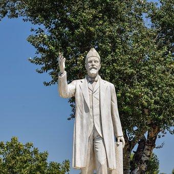 Greece, Thessaloniki, Statue, Monument