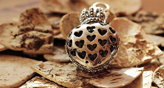 Heart, Heart With Crown, Heart With Hearts, Wood Heart
