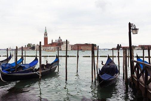 Italy, Venice, Gondola, Venice Italy, Architecture