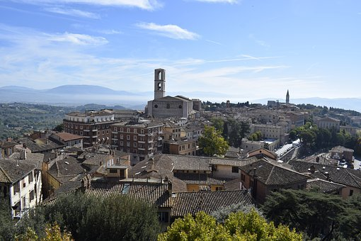 Perugia, Umbria, Medieval Village, Italy, Middle Ages