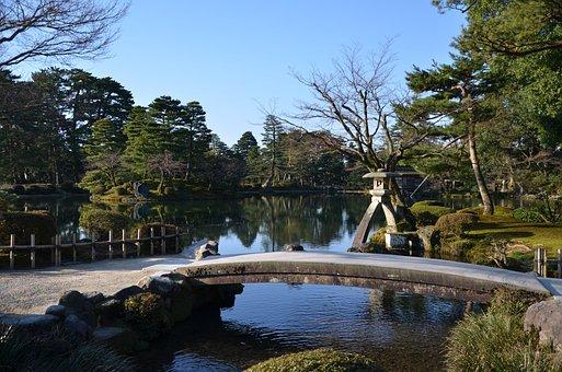 Japan, Kanazawa, Kenrokuen