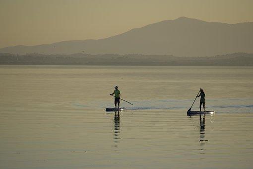 Lake Trasimeno, Sup, Surfing, Surfers, Surfer