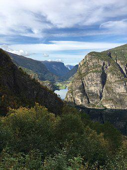Fjord, Water, Norway, Nature, Tourism, Landscape