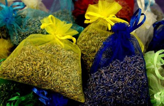Lavender, Calm, Sachet, Aromatherapy, Herbal, Relax