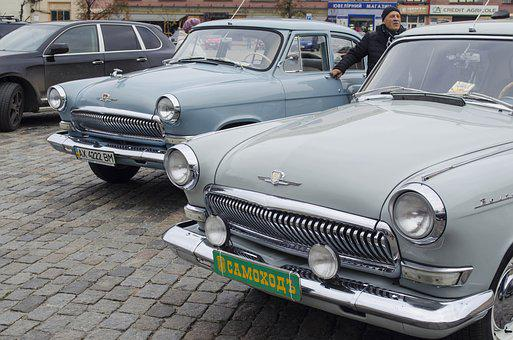Volga, Machinery, Rarity, Machine, Car, The Ussr