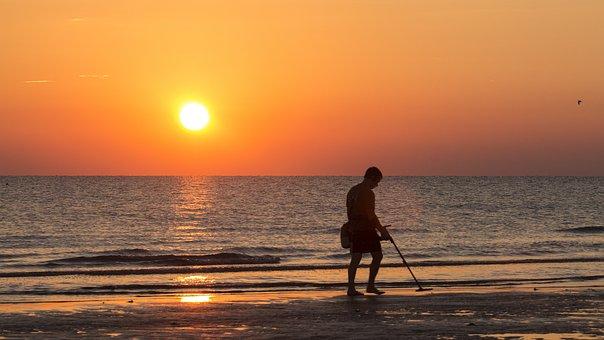 Beach, Sunrise, Sea, Holiday, Sun, Morgenstimmung