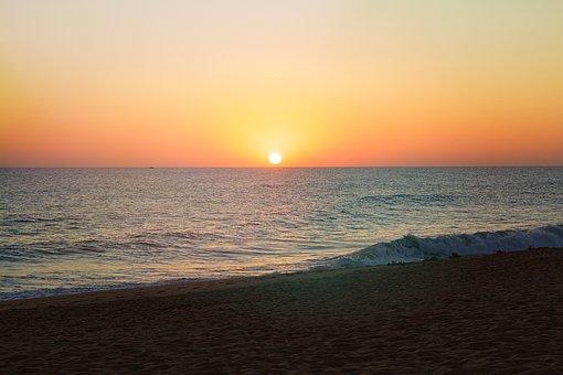 Faro, Portugal, Atlantic, Algarve, Coast, Nature, Wave
