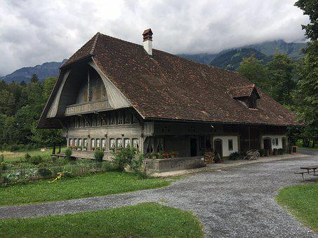 Cottage, Thatched, House, Roof, Architecture