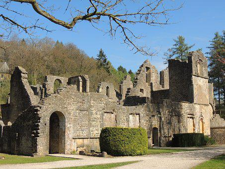Ruin, Abbey, Middle Ages, Monastery Ruins, Historically