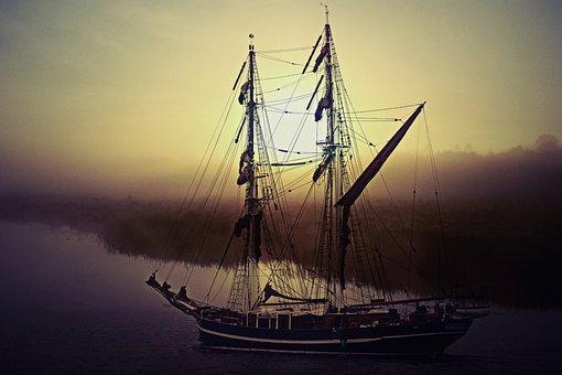Ship, Sailing Vessel, Seafaring, Zweimaster, Sail