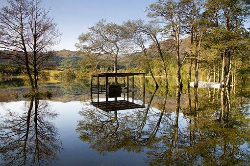 Loch, Lake, Water, Scotland, Nature, Scenic, Reflection