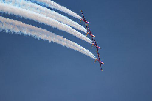 Airshow, Sky, Aviation, Airplane, Plane, Air, Speed