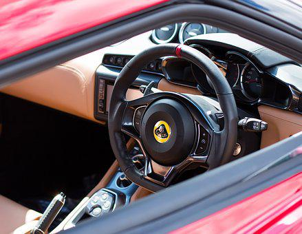 Lotus Evora, Lotus, Evora, Steering Wheel, Car