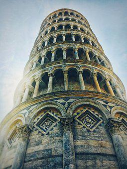 Pisa, Tower, Tourism, Showplace, Beauty, Italy, Journey