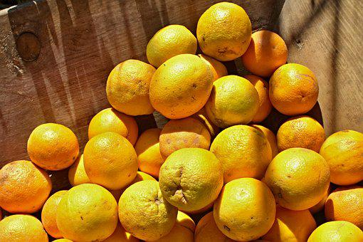 Oranges, Tropical Fruits, Natural, Of Course