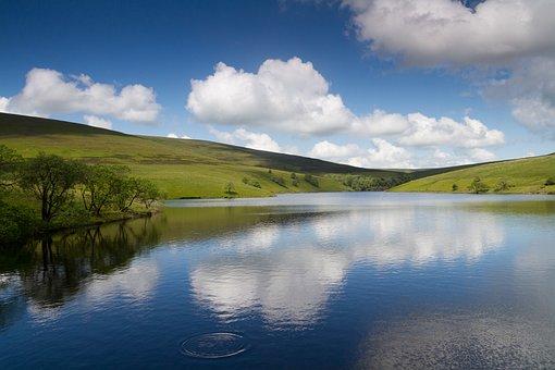 Landscape, Sky, Cloud, Outdoor, Loch, Lake, Water