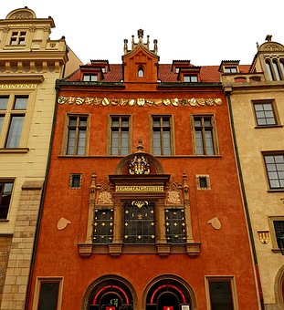 Town Hall, Prague, Old Town, Renaissance, Window