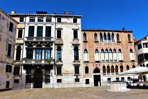 Venice, Italy, Architecture, Palace, Buildings