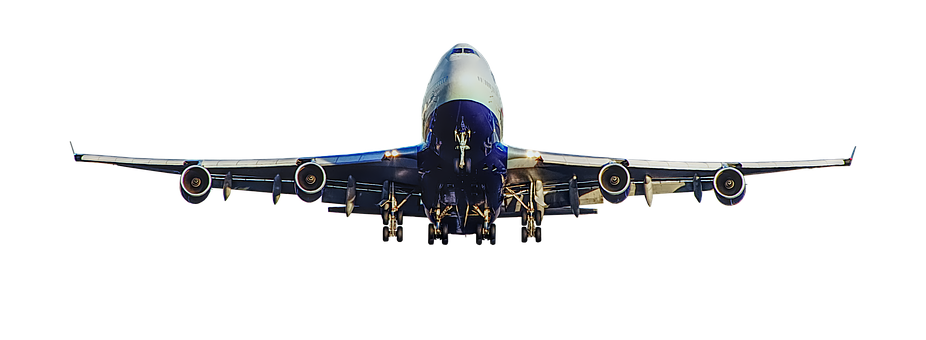 Airline, Airplane, B-747, Plane Aircraft, Wing, Flight
