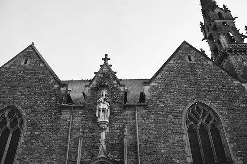 Church Acigné, France, Brittany