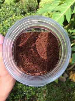 Coffee, Powder, Mug, Brown, Caffeine