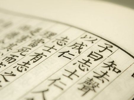 Analects, Confucius, Paper, Type, Chinese