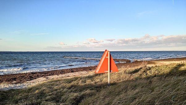 Sea, Baltic Sea, Coast, Denmark, Beach, Rough Sea