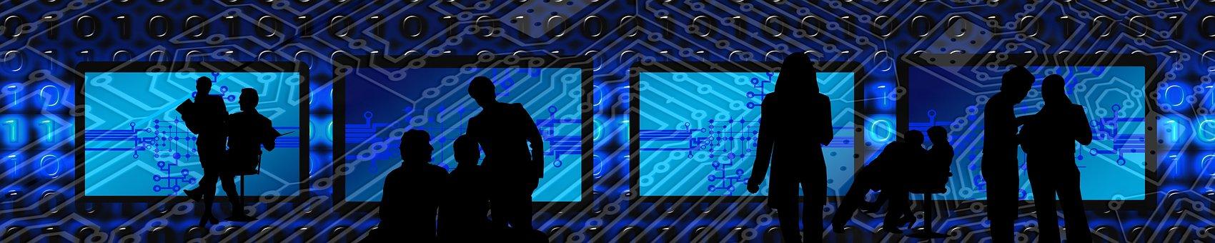 Binary, Binary System, Personal, Silhouettes, Developer