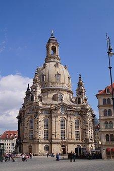 Dresden, Frauenkirche, Church