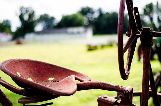 Tractor, Farm, Agriculture, Field, Farmer, Rural