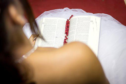 Girl, Fifteen Years, Woman, Young, Bible, Religion