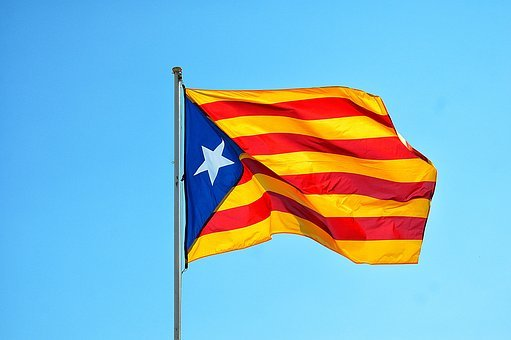 Independence Of Catalonia, Flag, Spain