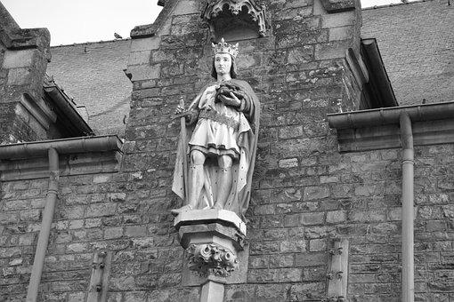 Church Acigné, Brittany, France Ille Et Vilaine