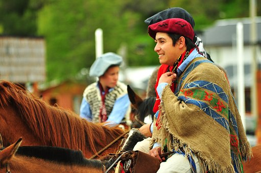 Gaucho, Aysen, Patagonia, Chile, Castle Hill