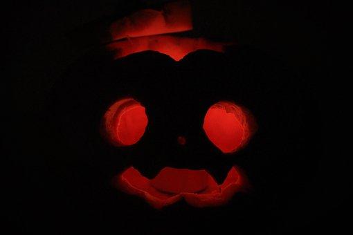 Halloween, Pumpkin, Creepy, Autumn Decoration