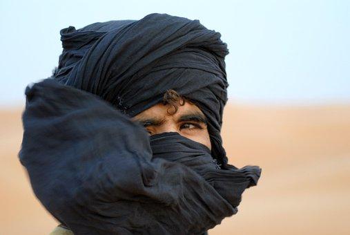 Man, Desert, Moroccan, Headwear, Arabic, Turban