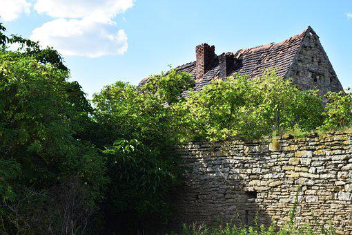 Old House, Leave, Old, Home, Ruin, Forget, Building