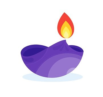 Diwali, Lamp, Icon, Happy, Culture, Greeting, Holiday