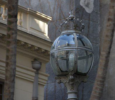 Fixture, Town, Style, Old, Antique, Lamp, Vintage