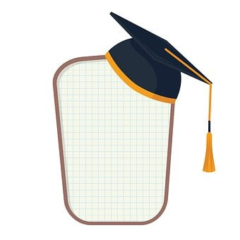 Learning, Graduation, Study Of, Materials, Clipart