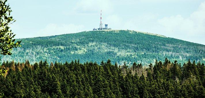 Resin, Brocken View, National Park, High Position